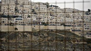 La colonie juive de Ramat Shlomoà Jérusalem-Est (Israël),le 5 juin 2014. (AHMAD GHARABLI / AFP)