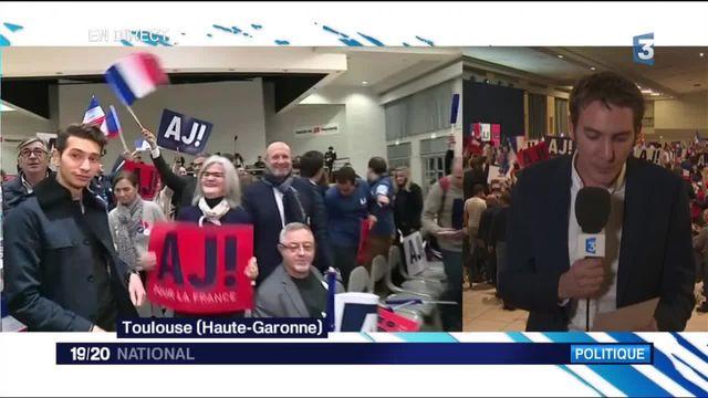 Alain Juppé en meeting à Toulouse : le challenger de François Fillon reste combatif