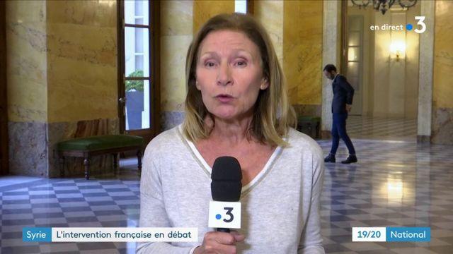 Syrie : l'intervention française fait débat à l'Assemblée nationale