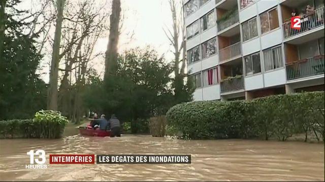 Inondations : les sinistrés constatent les dégâts