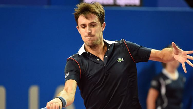 Le tennisman français Edouard Roger-Vasselin