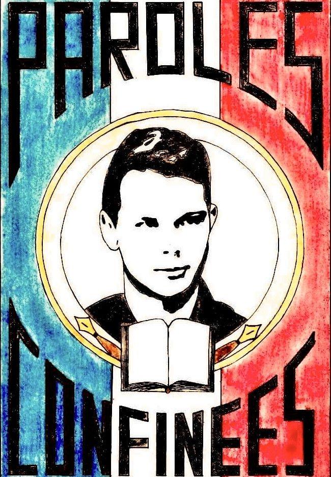 """Alexandre Prévert - """"Paroles Confinées"""" (Illustration Axelle Bourgougnon)"""