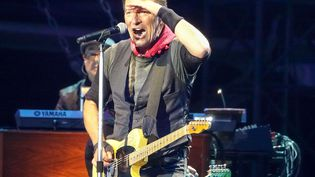 Bruce Springsteenet leE Street Band en concert à la Ricoh Arena, Coventry, Angleterre, le 3 juin 2016. (GEOFF ROBINSON/SHUTTERSTOCK/SIPA / REX)
