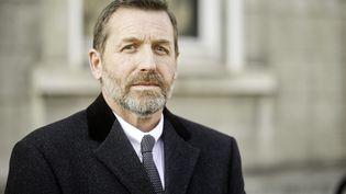 Le directeur de la police judiciaire de Lille, Romuald Muller, à Valenciennes (Nord), le 28 février 2018. (MAXPPP)