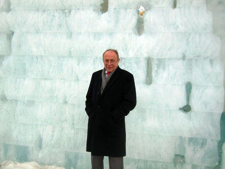 Michel Rocard en Suède, en 2013 (LE CERCLE POLAIRE)