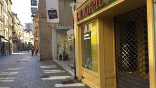 Un commerce non essentiel fermé à Metz. (CÉCILE SOULÉ / FRANCE-BLEU LORRAINE NORD)
