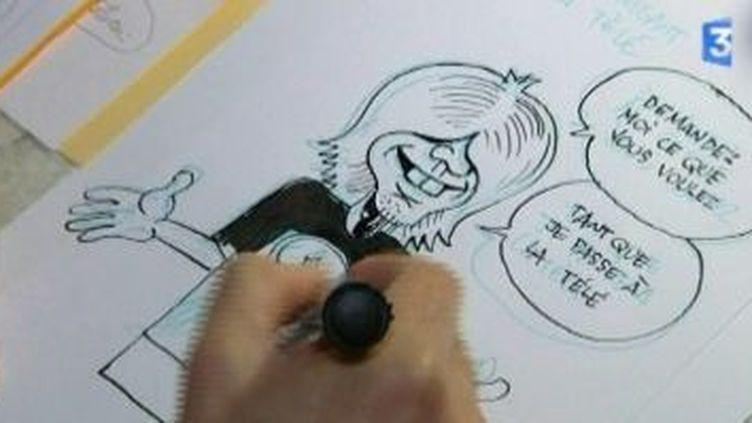 Pierre Druilhe, un dessinateur albigeois à Angoulême  (Culturebox)