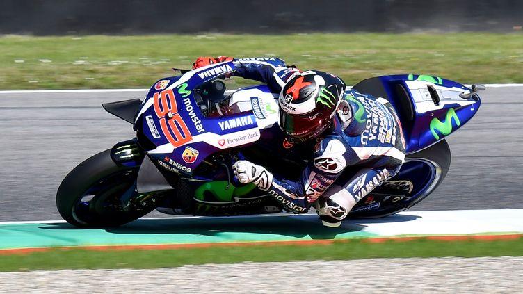 Jorge Lorenzo (Yamaha) est le patron cette saison (CLAUDIO PASQUAZI / ANADOLU AGENCY)