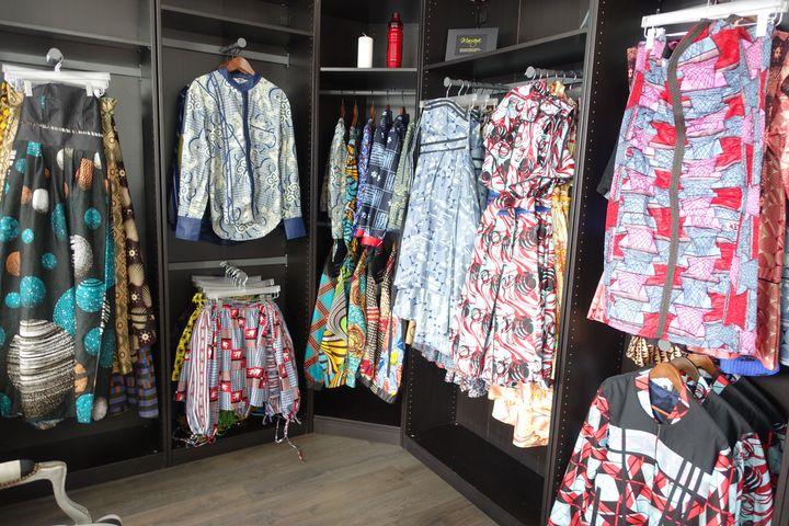 La boutique Mansaya à Paris, le 13 mai 2019 (CORINNE JEAMMET)