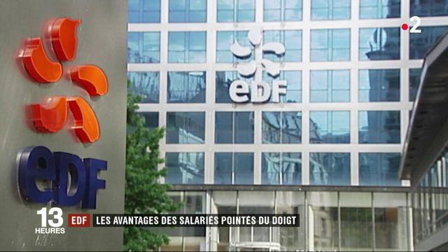 EDF : les avantages des salariés pointés du doigt par la Cour des comptes