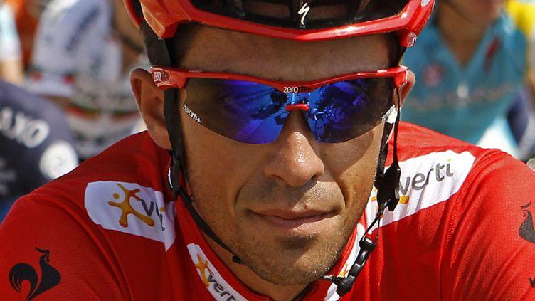 L'Espagnol Alberto Contador (Saxo Bank)