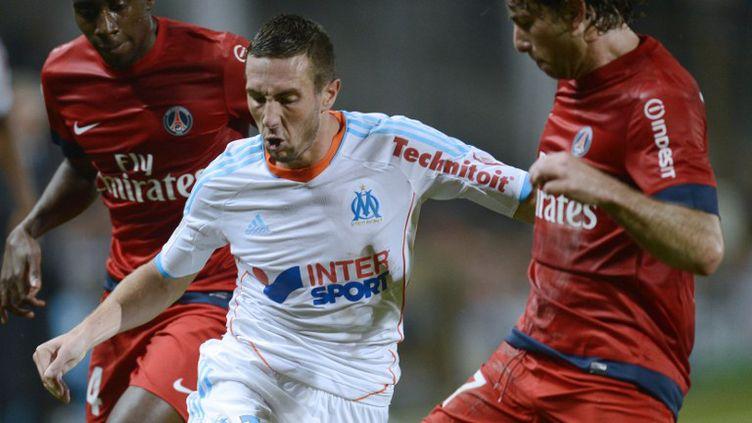 Le milieu offensif de Marseille Morgan Amalfitano