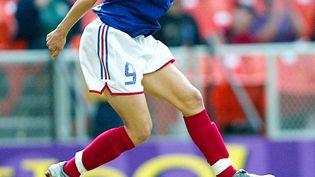 Marinette Pichon lors de la Coupe du monde 2003 aux États-Unis. (TIM SLOAN / AFP)