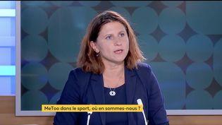 Roxana Maracineanu a déclaré, lundi 13 septembre, que 533 affaires de violences sexuelles étaient en cours de traitement par le ministère des Sports. (D.R)