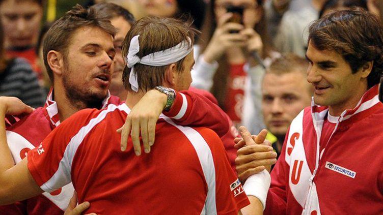 Roger Federer (Coupe Davis) (ANDREJ ISAKOVIC / AFP)