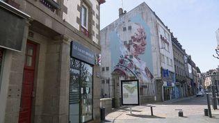 Fresque de street art à Saint-Brieuc (Côtes-d'Armor) (France 3 Bretagne)