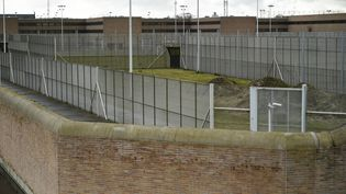 Photo prise le 20 mars 2016 de la prison de Bruges où a été transféré Salah Abdeslam. (JOHN THYS / AFP)