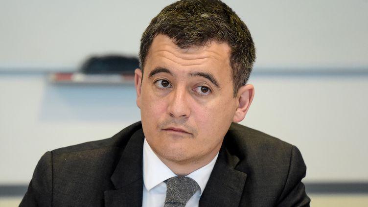 Le ministre de l'Action et des Comptes publics, Gérald Darmanin, le 29 mars 2018, à Paris. (ERIC PIERMONT / AFP)