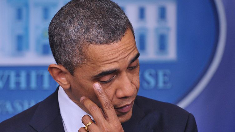 Barack Obama, le 14 décembre 2012. (MANDEL NGAN / AFP)