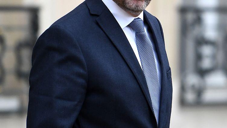 Le ministre de l'Intérieur, Christophe Castaner, à l'Elysée, le 27 novembre 2019. (ALAIN JOCARD / AFP)