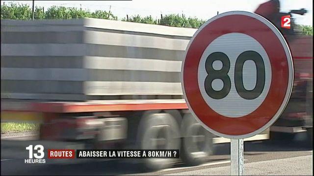 Sécurité routière : abaisser la vitesse à 80km/h ?