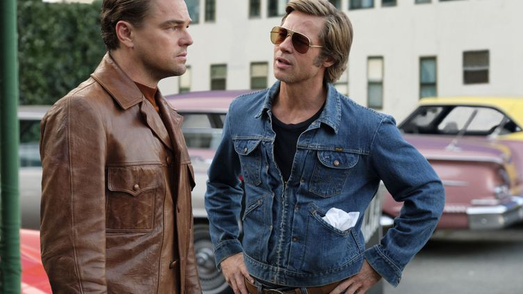 "Leonardo DiCaprio et Brad Pitt dans ""Once Upon a Timme... In Hollywood"" de Quentin Tarantino  (ANDREW COOPER / Sony)"
