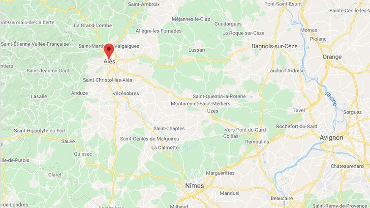 Alès (Gard) (GOOGLE MAPS)