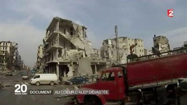 Syrie : le tableau apocalyptique d'Alep