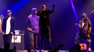 Le Wu Tang Clan sur la scène du Cabaret Vert  (France3/culturebox)