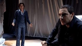 """Arnaud Denis et Jean-Laurent Silvi dans """"Le Misanthrope"""" de Michèle Andrè à la Cigale  (France3 / Culturebox)"""