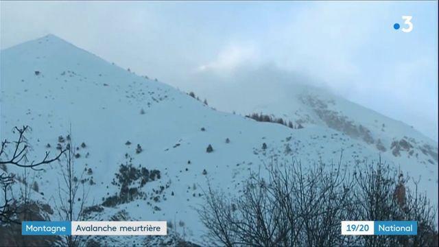 Montagne : avalanche meurtrière à Entraunes