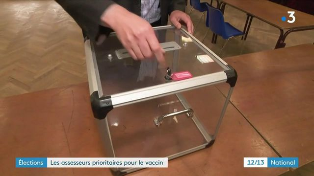 Régionales 2021 : les assesseurs sont prioritaires à la vaccination contre le Covid-19