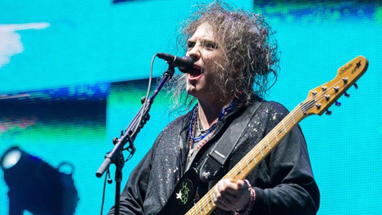 Robert Smith de The Cure en septembre 2013 au festival Austin City Limits (USA).  (REX/Amy Harris/REX/SIPA)