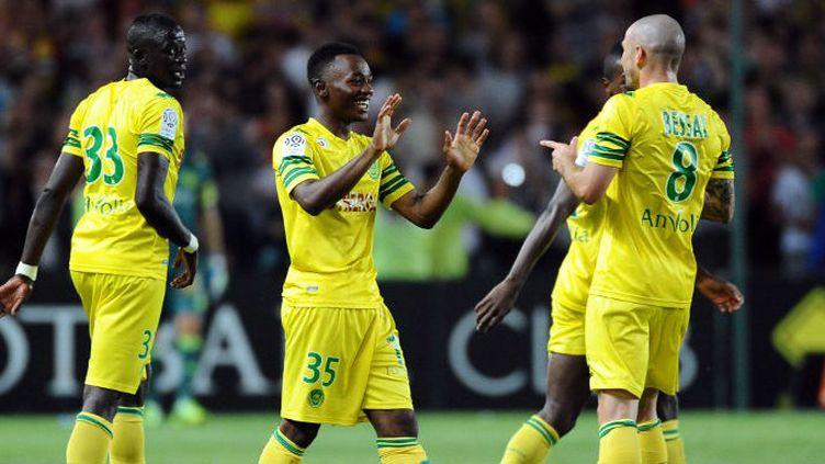 Nkoudou et Bessat (FC Nantes)