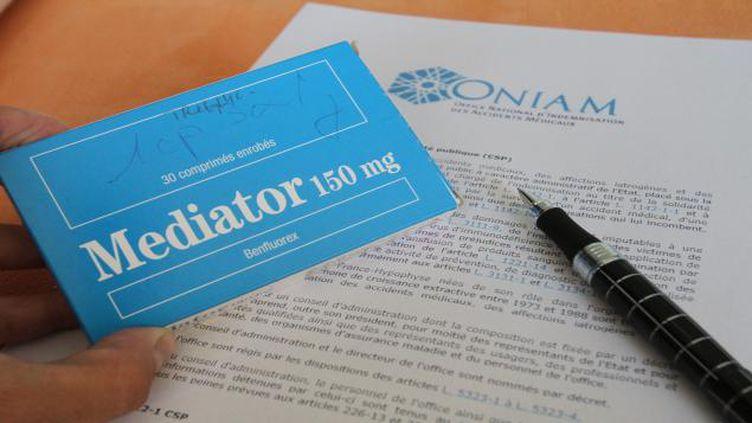 (Une pétition s'insurge contre le laboratoire Servier qui rechigne à indemniser les victimes du Mediator © MaxPPP)