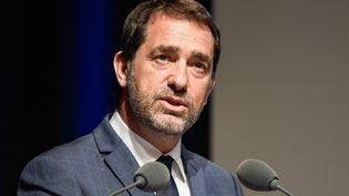 Le ministre de l'Intérieur, Christophe Castaner, à Paris, le 24 avril 2019. (BERTRAND GUAY / AFP)