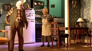 André (Robert Hirsch) et Madeleine (Isabelle Sadoyan), un couple au crépuscule de son existence.  (France 3 / Culturebox)