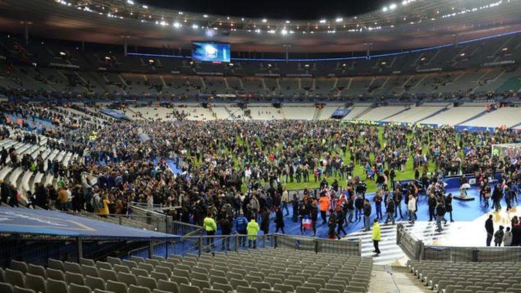 (Le stade de France le soir des attaques © MAXPPP)