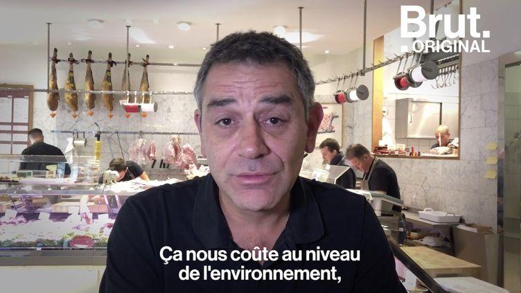 VIDEO. Le message de l'artisan-boucher Hugo Desnoyer contre l'élevage intensif (BRUT)