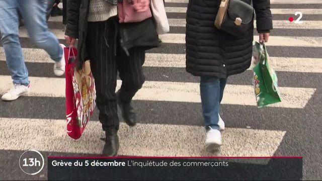 Grève du 5 décembre : les commerçants craignent pour leur chiffre d'affaires