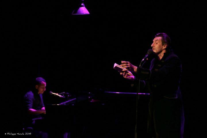"""Le Cirque des Mirages - """"Delusion Club"""" : Voix : Yanowski Piano : Fred Parker (Philippe Hanula)"""