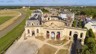 Vue aérienne des Grandes Écuries de Chantilly (AFP / hemis.fr / Davit Bugrat)