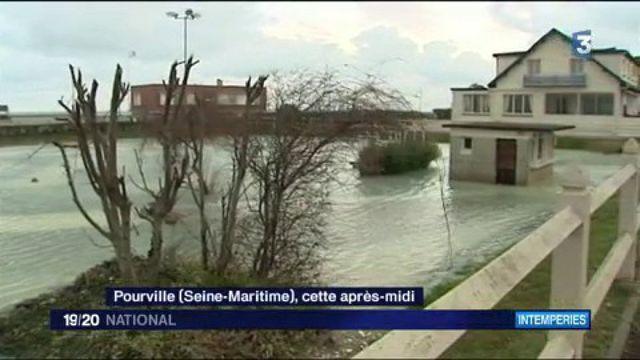 Intempéries : le nord de la France touchée par une tempête hivernale