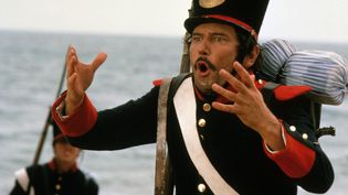 """Maurice Barrrier dans le film de télévision """"Les chevaux du soleil"""" de 1980. (TF1 / TAURUS FILM)"""