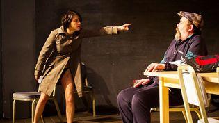 "Sabrina Bus et Benoît Hamelin, deux des interprètes de ""Looking for Lulu"".  ( Séverin Albert)"