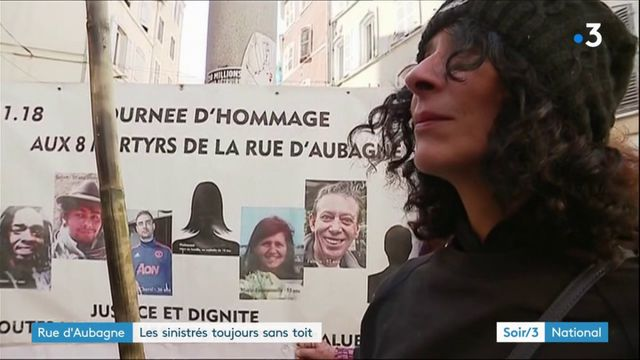 Marseille : hommage aux victimes de l'habitat insalubre