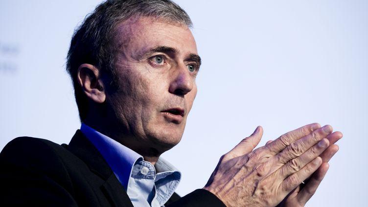 Brice Teinturier, le directeur général d'Ipsos France, le 4 octobre 2017. (VINCENT ISORE / MAXPPP)