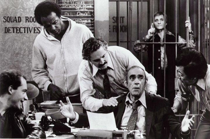 """Abe Vigoda dans """"Barney Miller""""  (Kobal / The Picture Desk)"""