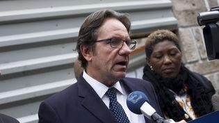 Le député Les Républicains Frédéric Lefebvre à Paris, le 5 octobre 2015. (PATRICE PIERROT / AFP)
