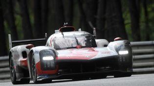La Toyota GR010 n°7 a remporté la 89e édition des 24 Heures du Mans, dimanche 22 août 2021. (JEAN-FRANCOIS MONIER / AFP)